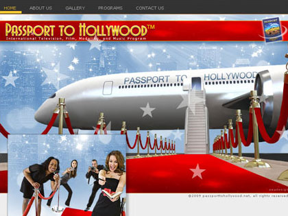 Passport To Hollywood - International Television, Film, Modeling, and Music Program