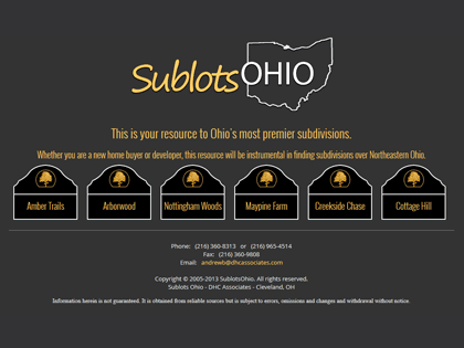 Ohio's most premier subdivisions